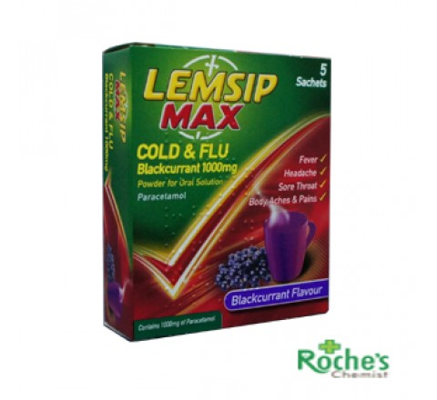 Lemsip Max 5's Blackcurrant