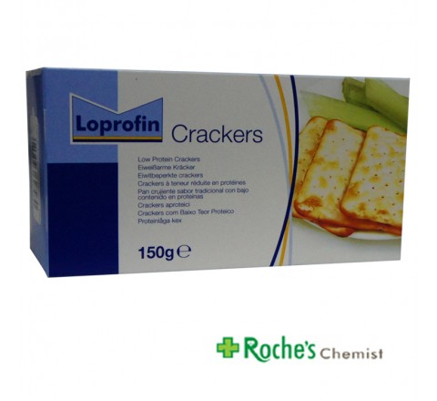 Loprofin Low Protein Crackers x 150g