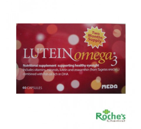 Lutein Omega 3 macular Degenerarion age related