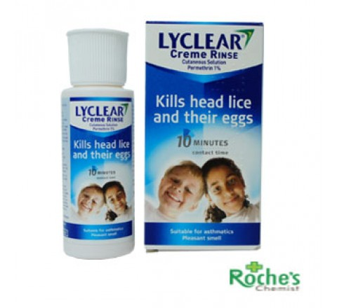 Lyclear Rinse for Hair Nits 59ml