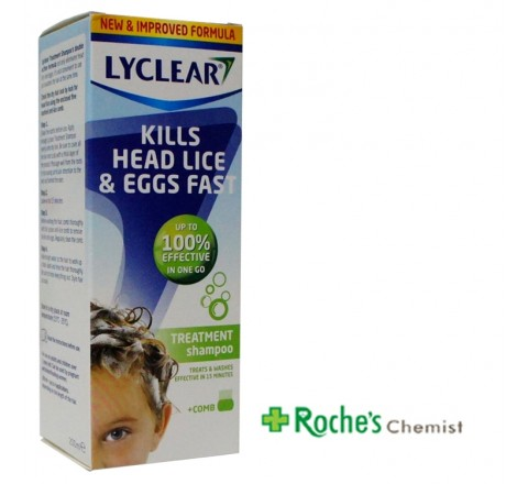 Lyclear Treatment Shampoo and Comb 200ml