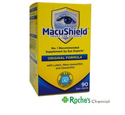 Macushield Capsules for Macular Degeneration