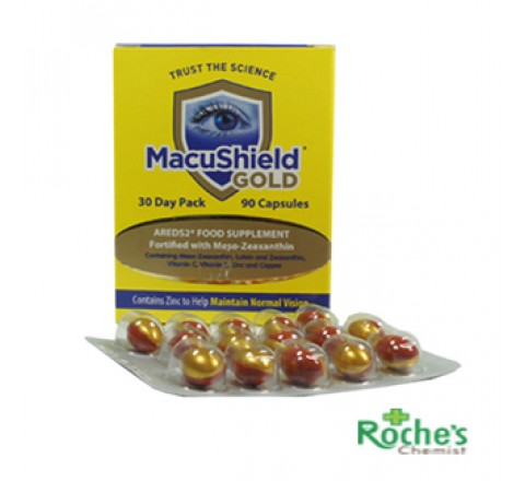 Macushield Gold capsules  x 90