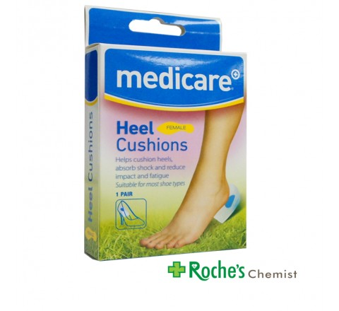 Medicare Heel Cushions Female 1 pair