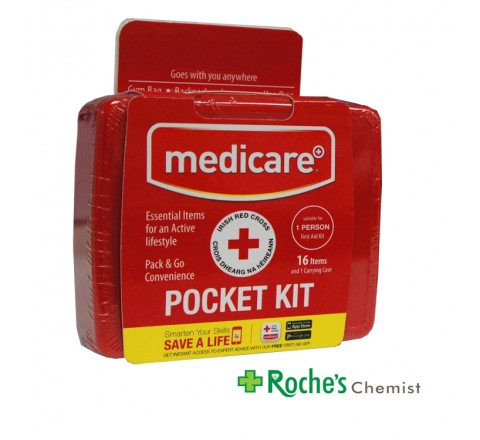 Medicare Pocket First Aid Kit 16 items