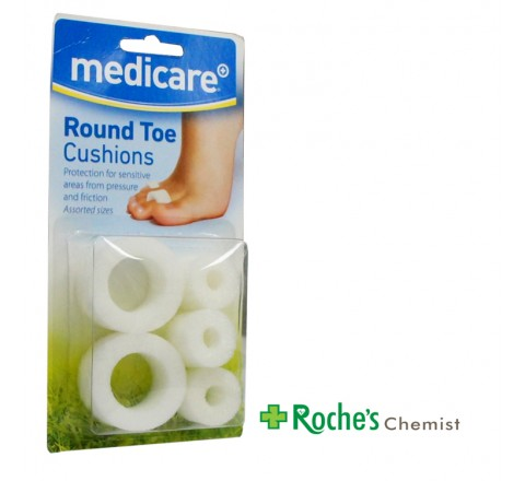 Medicare Round Toe Cushions Assorted