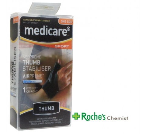 Medicare Thumb Stabiliser - One Size Fits all