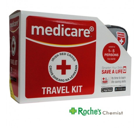Medicare Travel First Aid Kit 1-5 Persons
