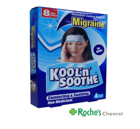 Migraine Kool n Soothe Patches