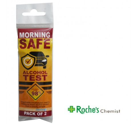Morning Safe Alcohol tests x 2