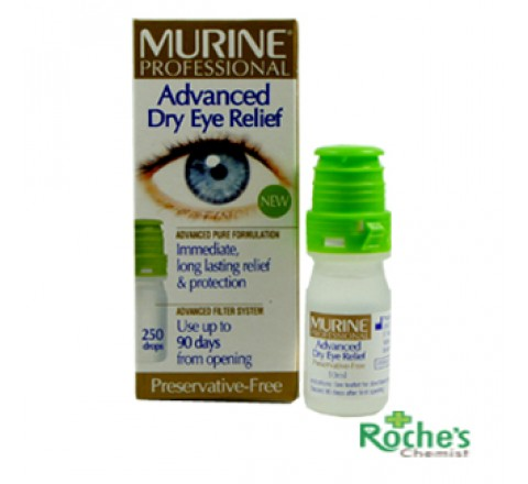 Murine Advanced Eye Relief Eye Drops x 10ml