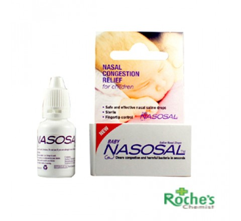 Nasosal 10ml - Saline Drops for babies