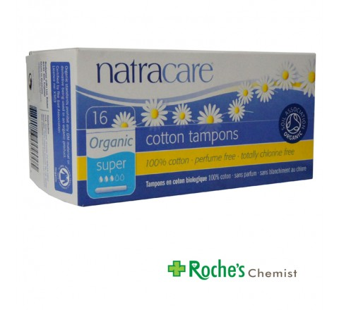 Natracare Tampons Super 16's