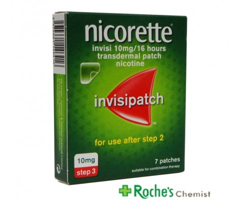 Nicorette Invisi-Patchs 10mg x 7