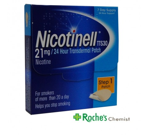 Nicotinell Patches 21mg/ hr x 7 patches