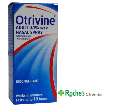 Otrivine Adult Spray nasal Spray 10ml Blue