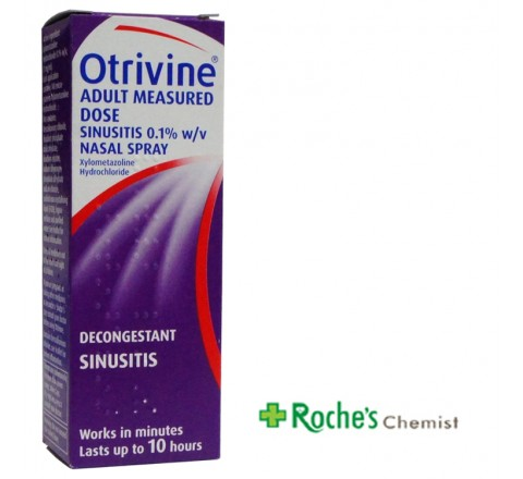 Otrivine Sinusitus Spray 10ml Purple