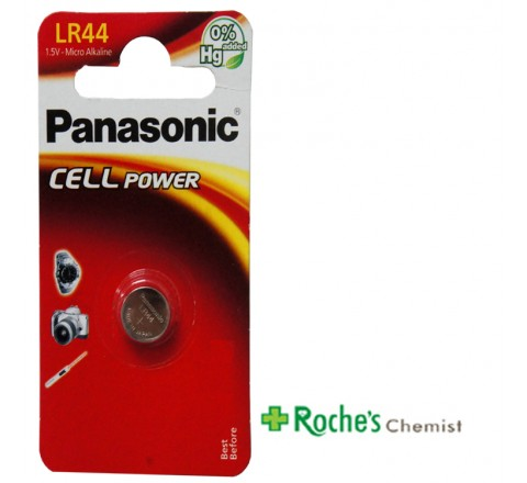 Panasonic LR44 Battery for Cameras and Calculators