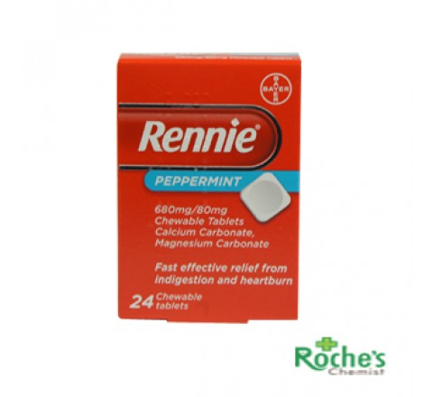 Rennies Peppermint x 24