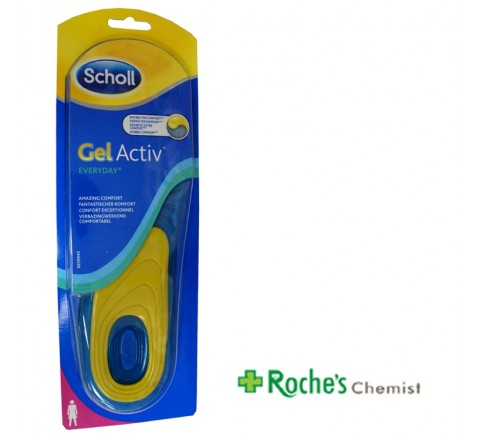 Scholl Gel Activ Insoles Everyday Women 1 pair