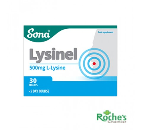 Sona Lysinel 500mg x  5 day course