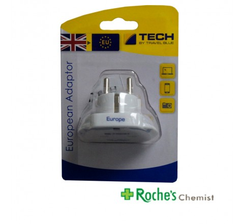 Travel Blue European Travel Adapter