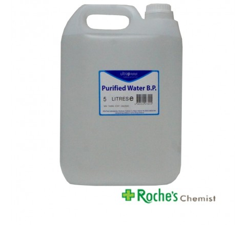 Ultrapure Purified Water 5 litres