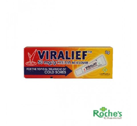 Viralief Cold Sore Cream 2g