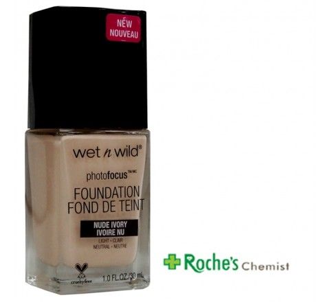 Wet n Wild Foundation Nude Ivory 30ml