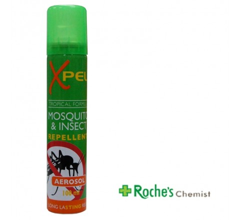 Xpel Mosquito and Insect Repellant Aerosol Spray 100ml