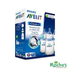 Avent Baby Feeding Bottles 2 x 260ml