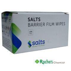 Salts Barrier Film Wipes x 30